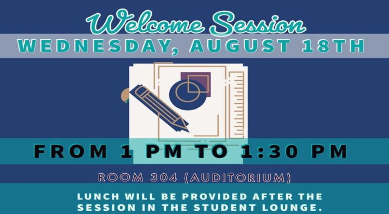 Welcome Session Fall 2021